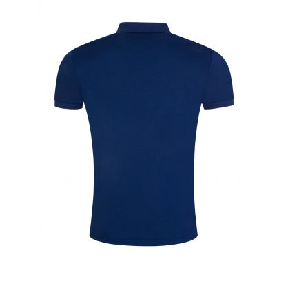 Navy Slim Fit Pima Cotton Polo Shirt