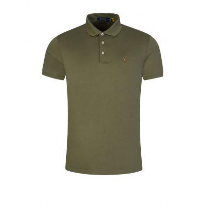 Green Interlock Polo Shirt