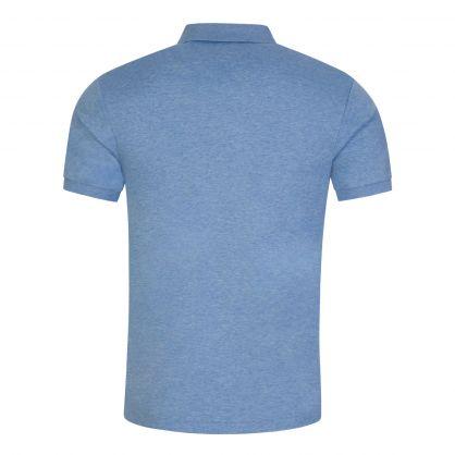 Blue Slim-Fit Classic Polo Shirt
