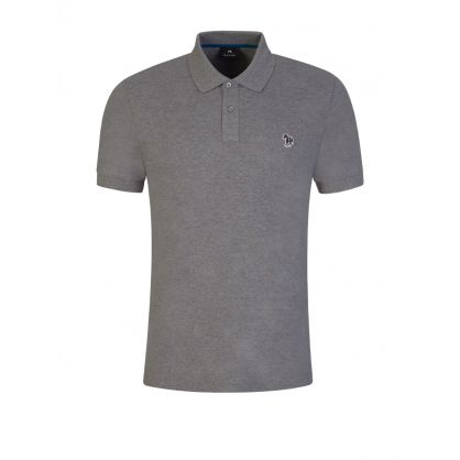 Grey Zebra Polo Shirt