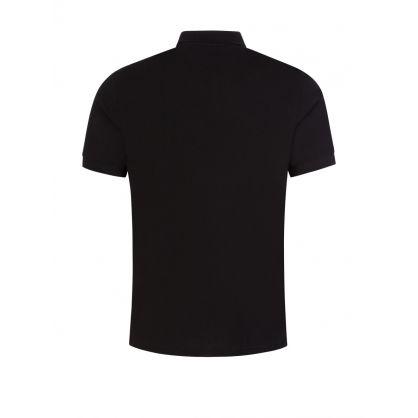 Black Zebra Logo Polo Shirt