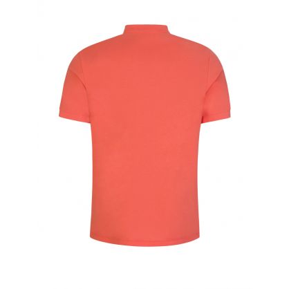 Orange Zebra Polo Shirt