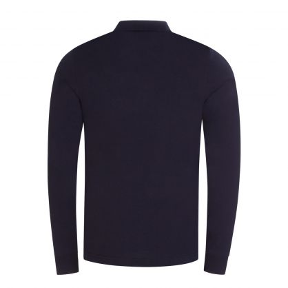Tommy Hifiger Navy Slim Fit Jersey Cotton Polo Shirt