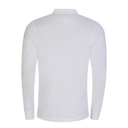 White Slim Fit Jersey Cotton Polo Shirt