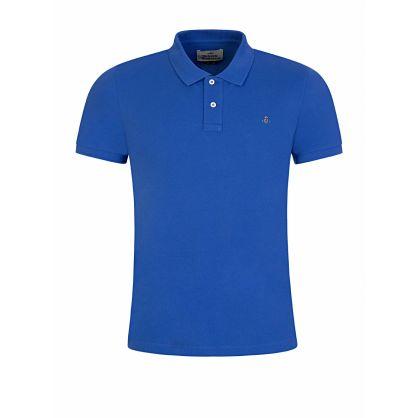 Blue Classic Polo Shirt