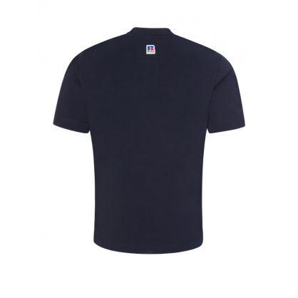 Dark Navy BOSS Athletic T-Shirt