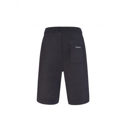 Black Relaxed-Fit Shorts