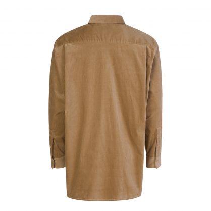 Beige Corduroy Shirt