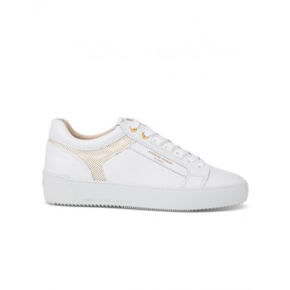 White Metallic Laser Venice Trainers