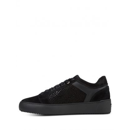 Black Venice Stingray Trainers