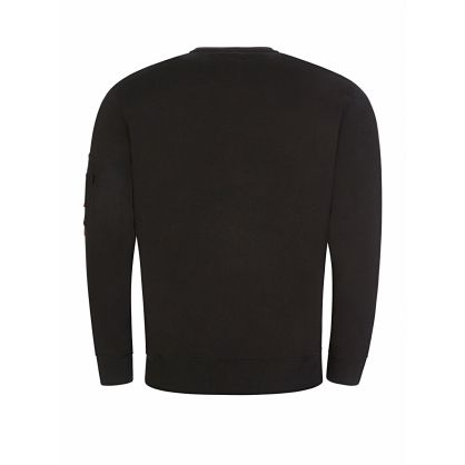 Black 3D Logo Sweatshirt