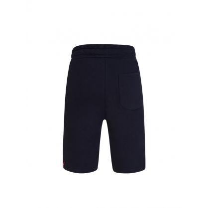 Navy NASA Patch Basic Sweat Shorts