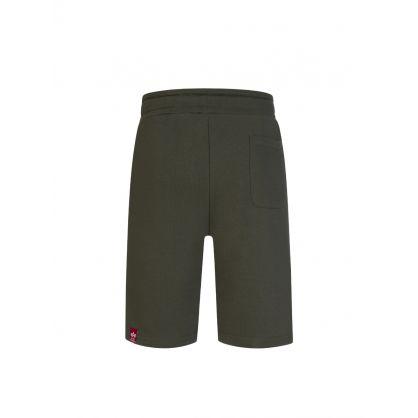 Green Basic Sweat Shorts SL
