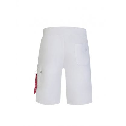 White X-Fit Cargo Shorts