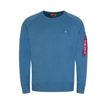 Blue X-Fit Sweatshirt