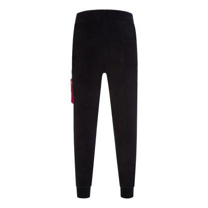 Black Polar Sweatpants