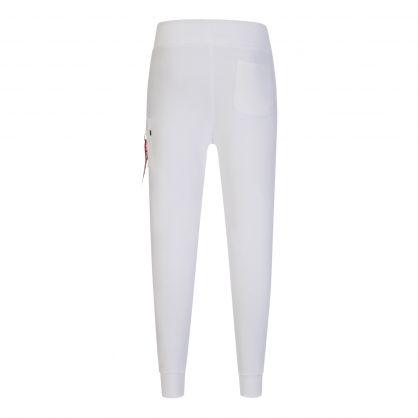 White X-Fit Slim Cargo Sweatpants