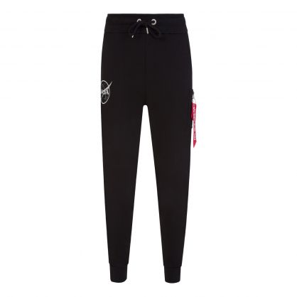 Black NASA Sweatpants