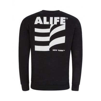 Black Museum Crew Neck Sweatshirt