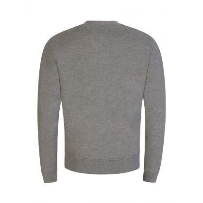 Grey Ami de Coeur Logo Fleece Sweatshirt
