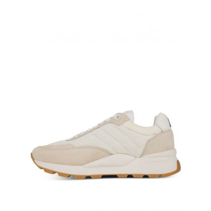 AMI Off White Low-Top Spring Trainers