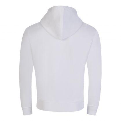 White Ami de Coeur Hooded Zip Through