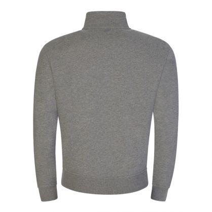 Grey Ami de Coeur Zipped Sweatshirt
