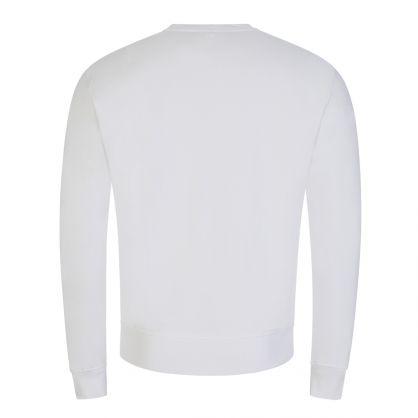 White Ami de Coeur Sweatshirt