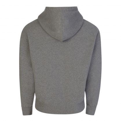 Grey Ami de Coeur Embroidered Hoodie
