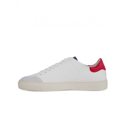 White/Red Clean 90 Triple Trainers