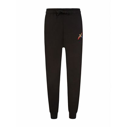 Black Tori Bird Logo Sweatpants