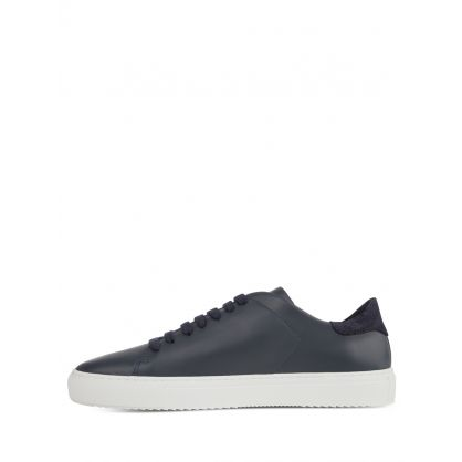 Navy Blue Clean 90 Trainers