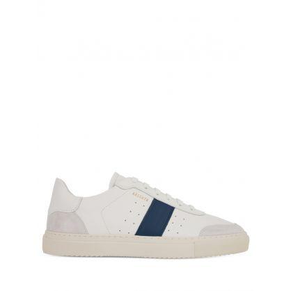 White/Blue Dunk V2 Trainers