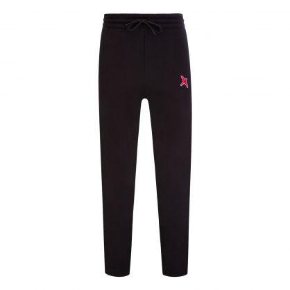Black Rouge Bee Bird Sweatpants