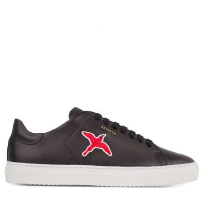 Black Clean 90 Red Bird Trainers
