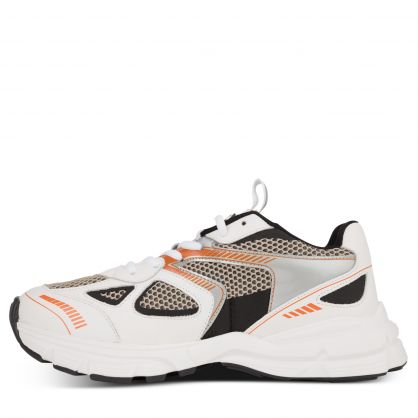 White/Black/Orange Marathon Runner Trainers
