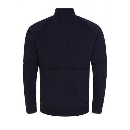 Navy Skaz Zip-Through Sweatshirt