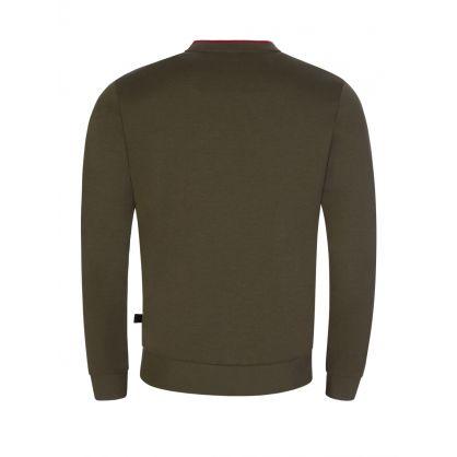 Green Salbo Athleisure Sweatshirt