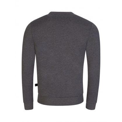 Grey Salbo Crew Neck Sweatshirt