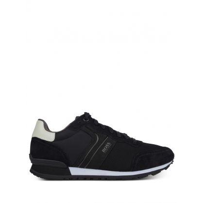 Black Parkour Runner Trainers