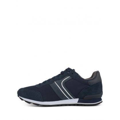 Navy Parkour Runner Trainers