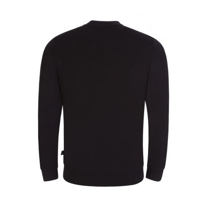 Black Athleisure Salbo 1 Logo Sweatshirt