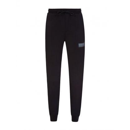 Black Athleisure Halvo Sweatpants