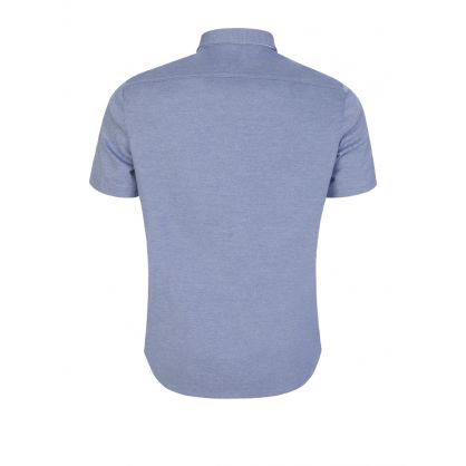 Blue Athleisure Short-Sleeved Biada_R Shirt