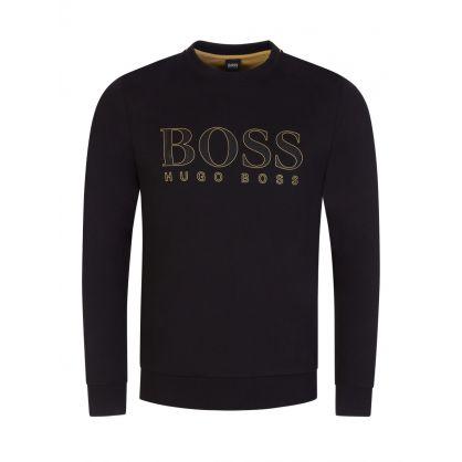 Black Salbo Gold Capsule Sweatshirt