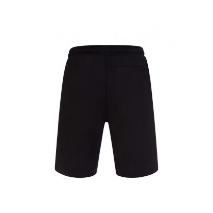 Black Headlo2 Gold Logo Shorts