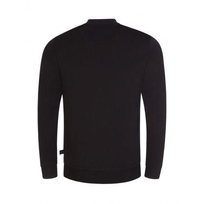 Black Salbo1 Crewneck Sweatshirt
