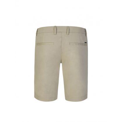 Beige Liem4-10 Slim Fit Shorts