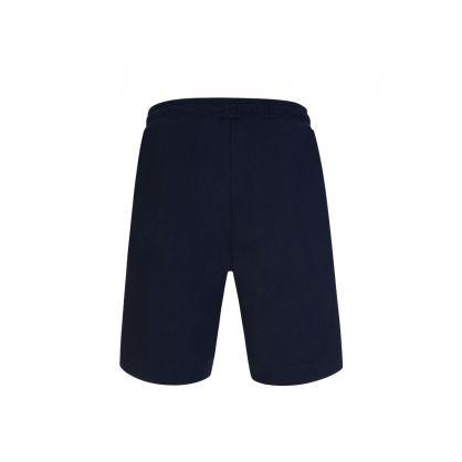 Navy Headlo Athleisure Shorts