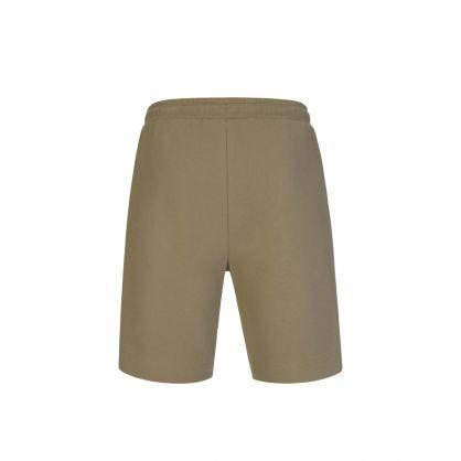 Green Headlo Athleisure Shorts